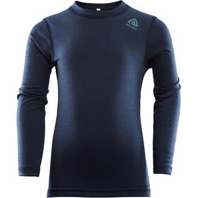 Aclima LightWool Crew neck trøje Børn, blå